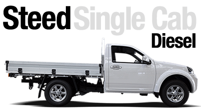 Steed Single Cab Diesel