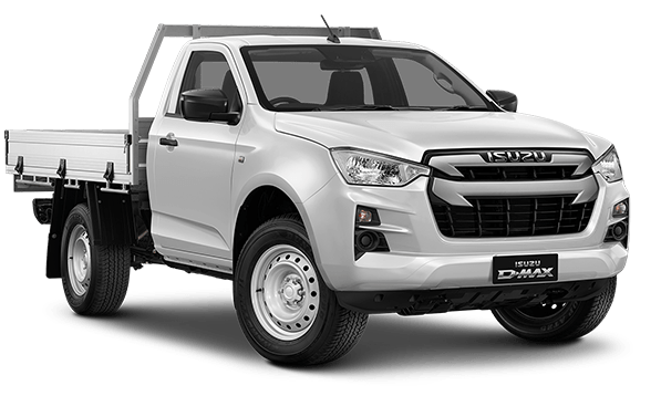 D-MAX 4X2 SX SINGLE CAB CHASSIS MANUAL  Image