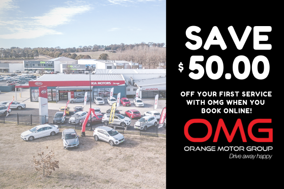 $50 off your first car service Image