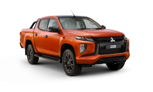 20MY TRITON GSR 4WD DOUBLE CAB - PICK UP DIESEL AUTO (ROLL TOP TONNEAU PACK)  Image