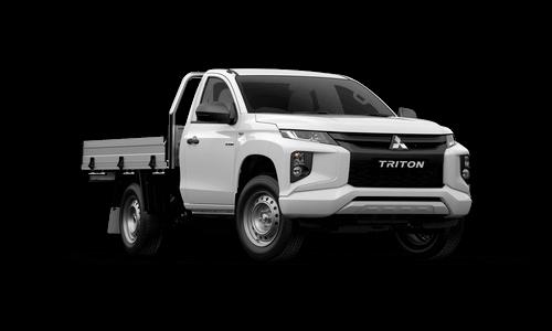 20MY TRITON GLX 2WD SINGLE CAB - CAB CHASSIS PETROL MANUAL  Image